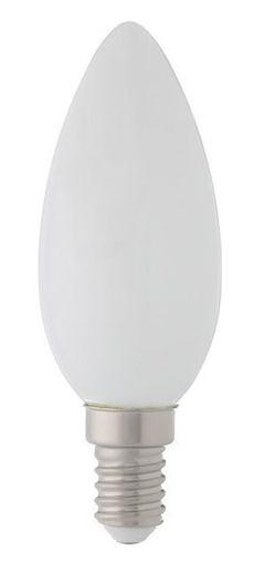Picture of Λάμπα LED Κερί Filament 4W E14 opal 3000Κ