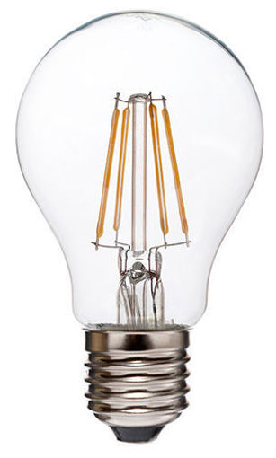 Picture of Λάμπα LED A60 FIlament 8W E27 Clear 3000Κ