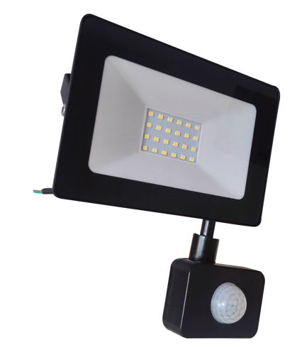 Προβολέας LED 10W with sensor SMD 6400K Slim-100014
