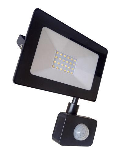 Προβολέας LED 30W with sensor SMD 6400K Slim-100016