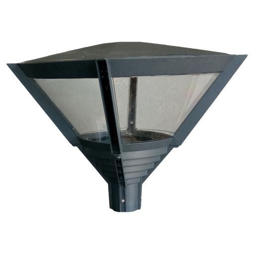 Φωτιστικό Κορυφής Ε40 Ανθρακί-100321
