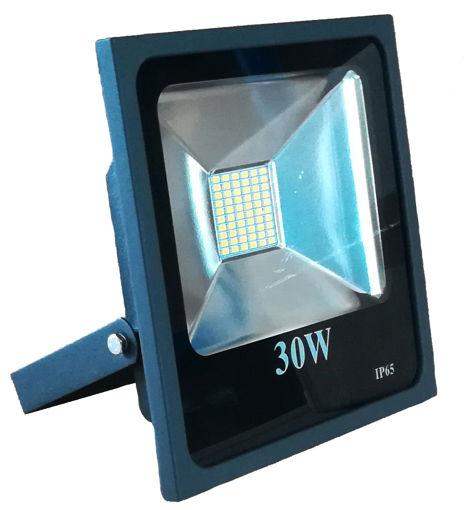 Προβολέας LED SMD 30W 2700Κ Μαύρος-100856
