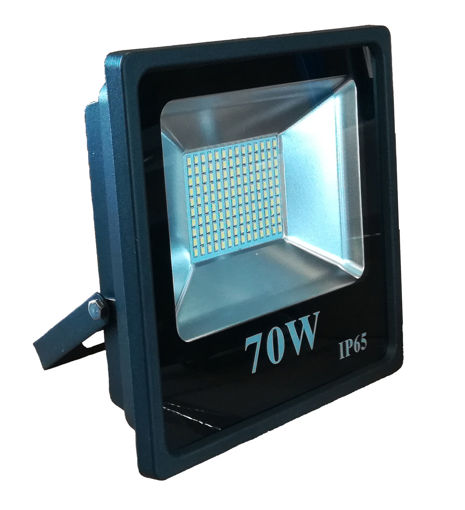 Προβολέας LED SMD 70W 6400K Μαύρος-100859