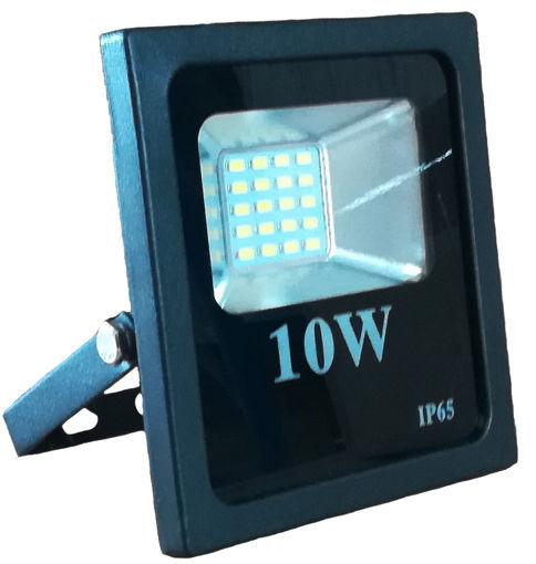 Προβολέας LED SMD 10W  2700K Μαύρος-100870