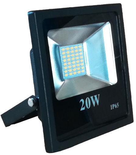 Προβολέας LED SMD 20W 6400K Μαύρος-100891