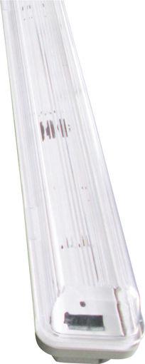 Σκαφάκι IP65 0,60m κενό για 1 λάμπα LED-101630