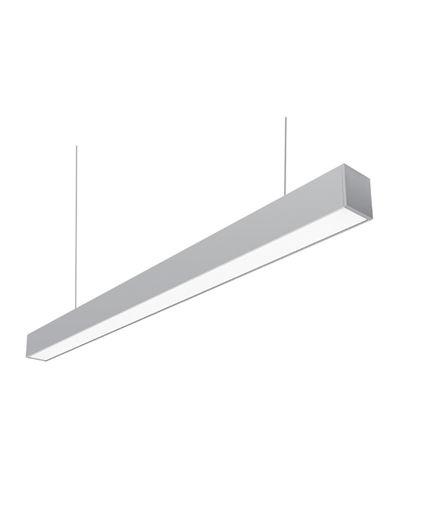 Γραμμικό φωτιστικό αλουμινίου LED  36W 6400Κ 1,2m-101741