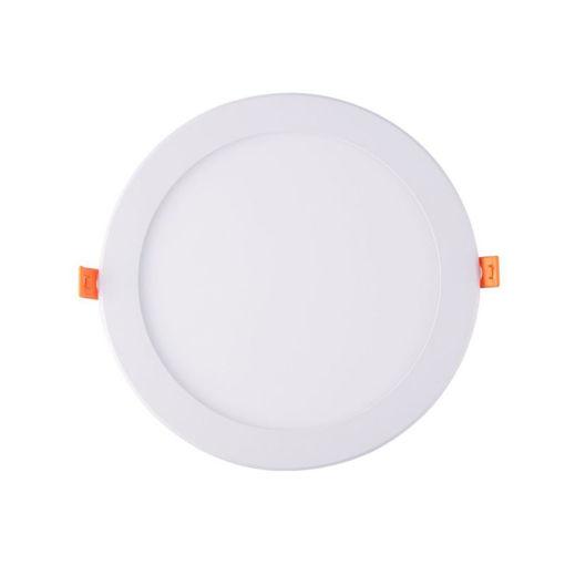 Φωτιστικό LED χωνευτό 20W ΛΕΥΚΟ 6400Κ-103301