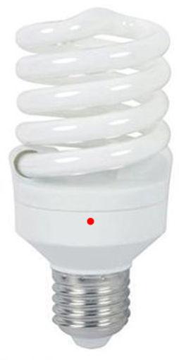 Λάμπα Full Spiral with sensor 15W E27 2700K-903090
