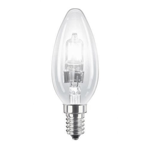 Λάμπα αλογόνου ECO Κερί 42W E14 CLEAR-903610
