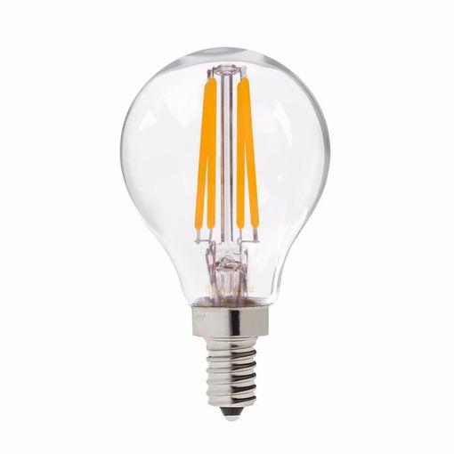 Λάμπα LED Filament G45 4W E14 Clear 3000K-903854