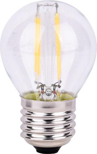 Λάμπα LED Filament G45 4W E27 Clear 3000K-903856