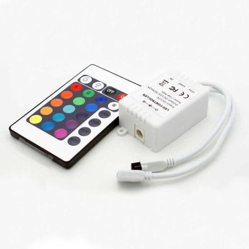 Μηχανισμός ελέγχου RGB 72W με χειριστήριο-850105