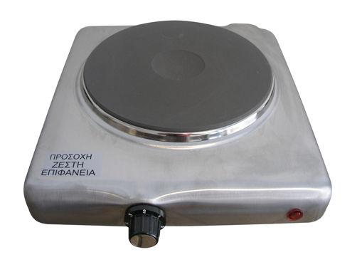 Ηλεκτρική εστία μονή με ενδ. λυχνία και θερμοστατικό διακόπτη-807039