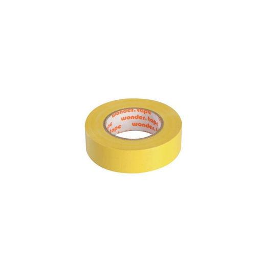 Μονωτική ταινία WONDER 0,13Χ19Χ20Υ Κίτρινη (στενή)-808003
