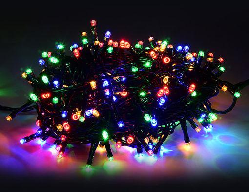 Λαμπάκια LED 100L 7m Μ/F πράσινο καλ. ΜULTI-840371