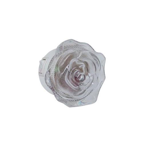 """Φως νυκτός LED """"τριαντάφυλλο"""" ΠΡΑΣΙΝΟ-110013"""