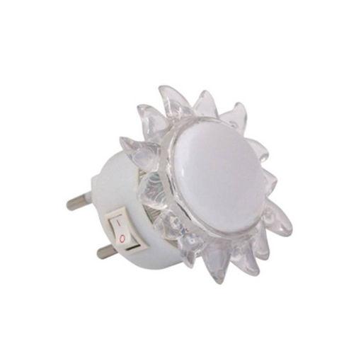 """Φως νυκτός LED """"ήλιος"""" ΜΠΛΕ-110019"""