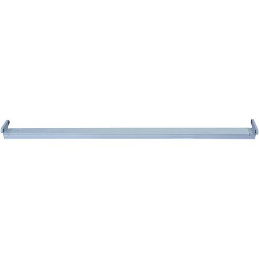 Σκαφάκι IP20 1.20m κενό για 2 λάμπες LED-112033