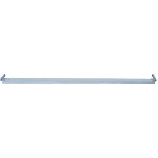 Σκαφάκι IP20 1.50m κενό για 2 λάμπες LED-112034