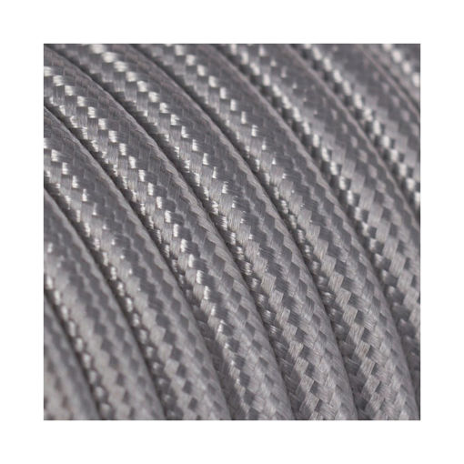 Διακοσμητικό υφασμάτινο καλώδιο Γκρι-701042