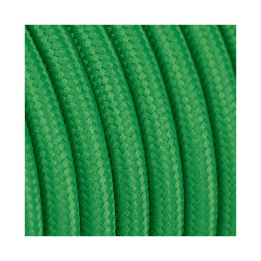 Διακοσμητικό υφασμάτινο καλώδιο Πράσινο-701044