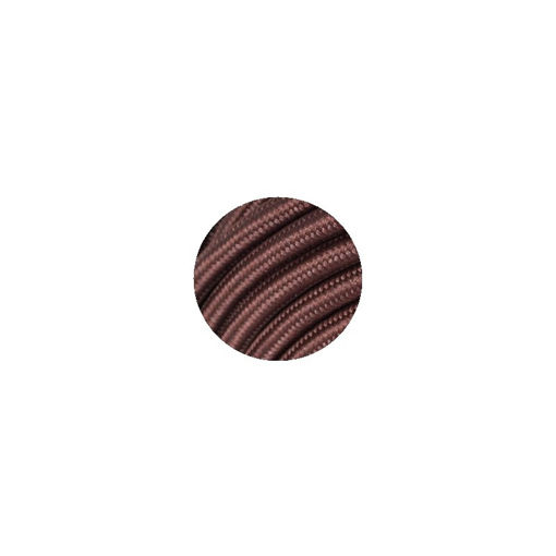 Διακοσμητικό υφασμάτινο καλώδιο  Καφέ-701048