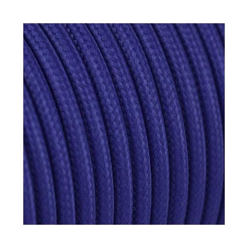 Διακοσμητικό υφασμάτινο καλώδιο  Μπλε-701049