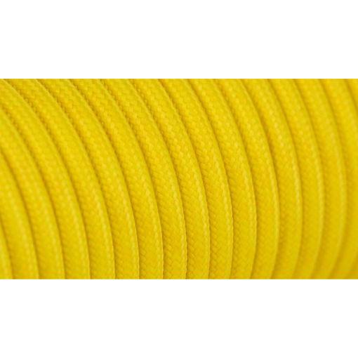 Διακοσμητικό υφασμάτινο καλώδιο  Κίτρινο-701052