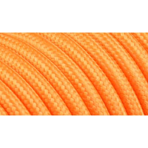 Διακοσμητικό υφασμάτινο καλώδιο  Πορτοκαλί-701054