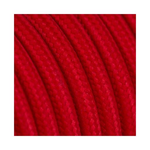 Διακοσμητικό υφασμάτινο καλώδιο  Κόκκινο-701055
