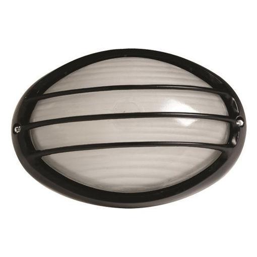 Φωτιστικό χελώνα 2034S E27 IP54 Μαύρο-105562
