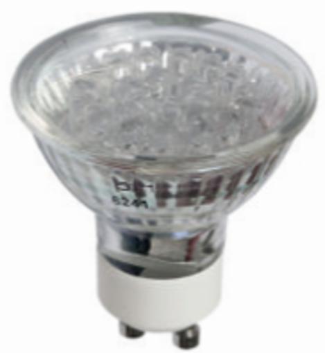 Picture of Λάμπα LED GU10 230V Κόκκινη