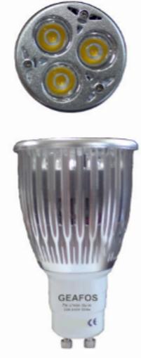 Εικόνα από Λάμπα LED 7W GU10 89mm 6400K Dimmable