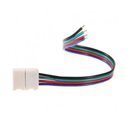 Picture of Connector με καλώδιο RGB 10mm