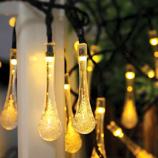 Διακοσμητικά Φωτάκια LED Σταγόνα 20L 4,4m Θερμό Φως-840044