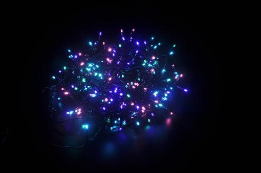Λαμπάκια LED 200L 10m με πρόγραμμα (πράσινο καλ.) Multi Opal  31V IP44-841000
