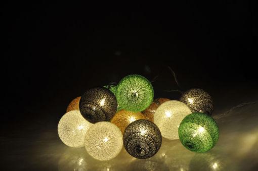 Υφασμάτινες μπάλες (cotton balls) LED Nature 20L Θερμό-841022
