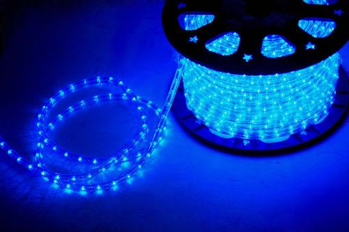 Φωτοσωλήνας LED Δικάναλος Μπλε-840191