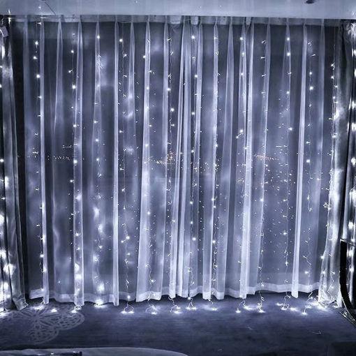 Picture of Κουρτίνα LED 300L FLASH 2x2,5m με επέκταση (max2) Ψυχρό