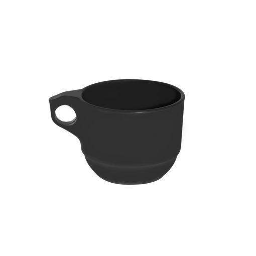 Κούπα Τσαγιού 290mL Μαύρη-409403