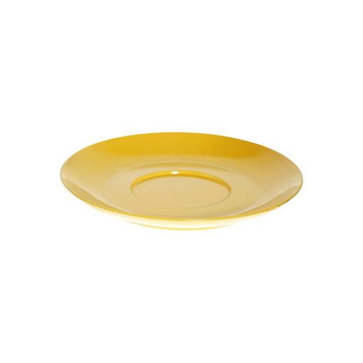 Πιατάκι κούπας τσαγιού Φ8cm Κίτρινο-409304