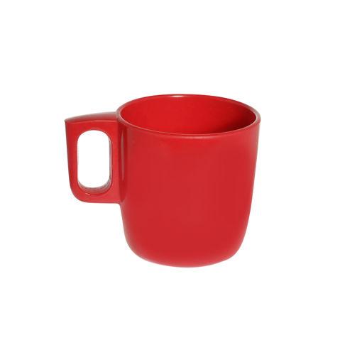 Κύπελλο Γάλακτος με λαβή 300mL Κόκκινο-409213