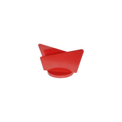 Θήκη για χαρτοπετσέτες Κόκκινη-409205
