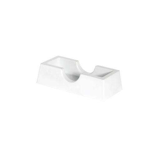 Θήκη οδοντογλυφίδων Λευκή-409106