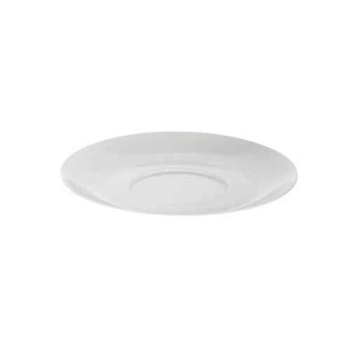 Πιατάκι κούπας τσαγιού Φ8cm Λευκό-409104