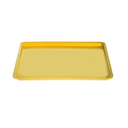Δίσκος παρ/μος 33,5x24,5cm Κίτρινος-407305