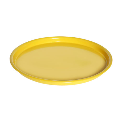 Δίσκος στρογγυλός Φ35cm Κίτρινος -407304