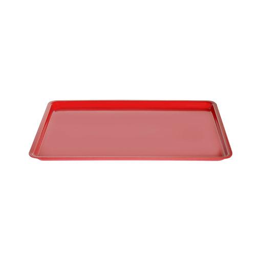 Δίσκος παρ/μος 33,5x24,5cm Κόκκινος-407205