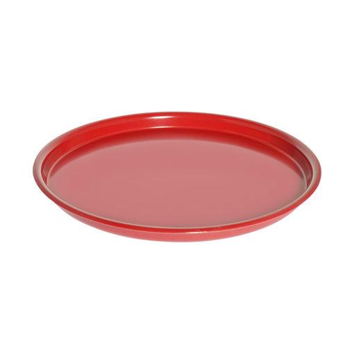 Δίσκος στρογγυλός Φ35cm Κόκκκινος -407204